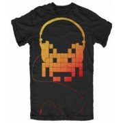 Tricou - Space Invaders - Headphones