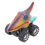 Childplaymate Mini Dinosaur Spring Pull Back Car Model Vehicle Wind-up Toys Kids Gifts​(F