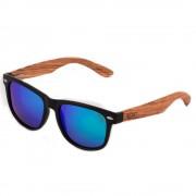 Ochelari de soare polarizati brate din bambus Pedro 1501M-1