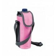 Geanta cooler Easycool roz pentru sticla de apa