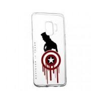 Husa de protectie Marvel Avengers Samsung Galaxy S9 Plus rez. la uzura anti-alunecare Silicon 199