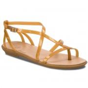 Сандали CROCS - Isabella Gladiator Sandal W 204914 Dark Gold/Gold