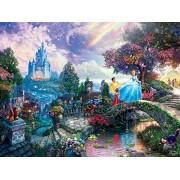 Ceaco Perfect Piece Count Puzzle - Thomas Kinkade Disney Dreams Collection - Cinderella Wishes Upon A Dream