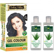 Best Hair Colour Gel Dark Brown And Colour Protective Shampoo Conditioning Set Of 3