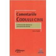 Comentariile Codului Civil. Contractul de vanzare si contractul de schimb - Doina Anghel