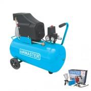 Compresor de aer AIRMASTER AIR2SHU850-AIR-70S, 230 V, 1.5 kW, 206 l/min, 8 bar, 50 l