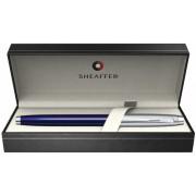 Roller Glossy Blue & Brushed Chrome NT 100 Sheaffer