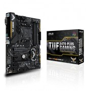 Asus tuf x470-Plus am4 Gaming – mainboard Socket AMD x470 chipset,, 4 x DIMM, max. 64 GB, DDR4 2666/2400/2133 MHz, non-ECC, VN-buffered, 1 x PCIe 3.0/2.0 x16)