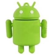 Microware Android Shape Designer Pen Drive 4 GB(Green)