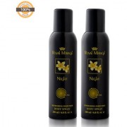 Royal Mirage Body Spray Night- Pack of 2 200ml