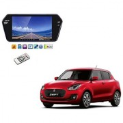 7 Inch Full HD Bluetooth LED Video Monitor Screen with USB and Bluetooth For Maruti Suzuki Swift New 2018