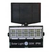 Vezeték nélküli Napelemes 30W 50 LED Reflektor fény-mozgásérzékelős - BL-8501