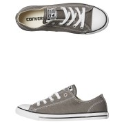 Converse Chuck Taylor Womens All Star Dainty Lo Shoe Charcoal Charcoal
