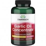 Swanson Česnekový Olej (Garlic Oil) 1500 mg 500 kapslí