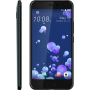 "Telefon Mobil HTC U11, Procesor Octa-Core 2.45/1.90 GHz, Super LCD5 Capacitive Touchscreen 5.5"", 4GB RAM, 64GB Flash, 12MP, 4G, Wi-Fi, Single Sim, Android (Negru) + Cartela SIM Orange PrePay, 6 euro credit, 6 GB internet 4G, 2,000 minute nationale si inte"