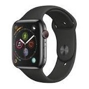 Apple Watch Series 4 (GPS + Cellular) 44mm Grey Aluminum Black Sport Band Space Grey