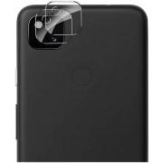 SaharaCase - ZeroDamage HD FlexiGlass Lens Hood for Google Pixel 4a Camera Lenses (2-Pack) - Clear