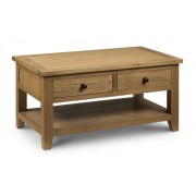 Astoria Coffee Table with 2 Drawers - Fully Assembled