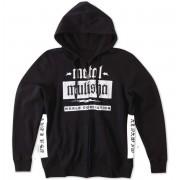kapucnis pulóver férfi - DIE LAST - METAL MULISHA - M15510100.01_BLK