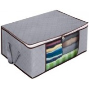 Corslet Cloth storage bag Cloth Storage Bag Storage Boxes Storage Organizers Foldable Portable Bags for Storage Fabric Box Steel Frame Collapsible Under Bed Wardrobe Storage Bag for Blanket Quilt Clothes Kids Dress Garments Storage Box for Clothes Storage