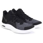 Nike AIR VERSITILE III Badminton Shoes For Men(Black, Grey)