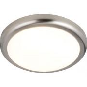 Plafoniera cu LED integrat Wasat 1x15W 850 lumeni, nichelata