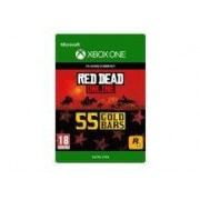 Xbox Giftcard Live Red Dead Redemption Online 55 Gold Bars Xbox One
