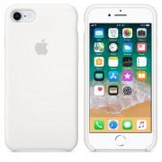 Husa Originala Apple iPhone 7 si iPhone 8 Silicon White