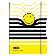 CAIET A5 MY.BOOK FLEX DICTANDO 40 FILE COPERTA PP SMILEY WOLRD B&Y STRIPES HERLITZ (HZ9479070)