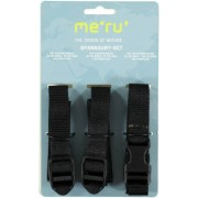 Meru Packing Strap 20 mm - set cinghie di compressione - Black