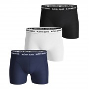 Bjorn Borg 3-pack heren boxershort Black/white combi