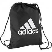 Adidas Zwarte gymtas rijgsluiting adidas maat