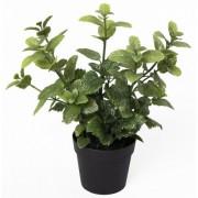 Изкуствена подправка Мента в саксия - B154Z-39200-PP05