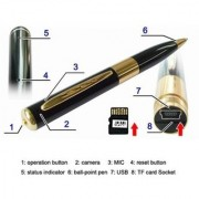 Onsgroup Spy Pen Hidden camera with HD quality 5.0 MP audio and video recording