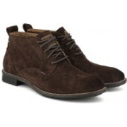 Levi's Low Tab Boots For Men(Brown)