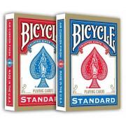 Bicycle 808 Standard Rider Back műanyag bevonatú kártya REGULAR FACE