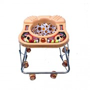 Golden Traders AMA Love Square Baby Walker (Brown)