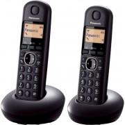 Bežični telefon Panasonic KX-TGB212FXB crni TwinPack