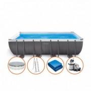 INTEX bazen 5.49 x 2.74 x 1.32 sa peščanom pumpom Ultra XTR Frame 26356