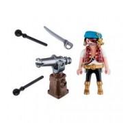 Set figurine - Piratul cu sabie si tun