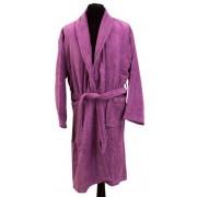 Borg Design Morgonrock - 100% Bomull - Borg Living - Large - Lavendel