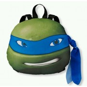 TMNT Ninja Turtles Turtle Head Plush Doll Backpack Leonardo Blue Costumes Bag