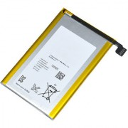 Snaptic Li Ion Polymer Replacement Battery for Sony Xperia ZL with Golden Nylon Micro USB V8 Cable