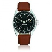 Fastrack Quartz Black Dial Mens Watch-3089SL05