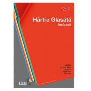 Hartie glasata lucioasa 12 file/set DACO