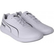 Puma BMW MMS Speed Cat Evo Synth Sneakers For Men(White)