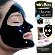 Charcoal Oil Control Anti-Acne Deep Cleansing Blackhead Remover Peel Off Mask for men and Women (Black)