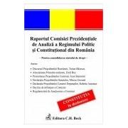 Raportul Comisiei Prezidentiale de Analiza a Regimului Politic si Constitutional din Romania.