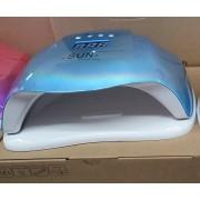 SUNX gyöngyházkék 54W profi UV/LED műkörmös lámpa