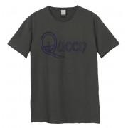 Muška metal majica Queen - ROYAL FLOCK CREST - AMPLIFIED - ZAV210F06